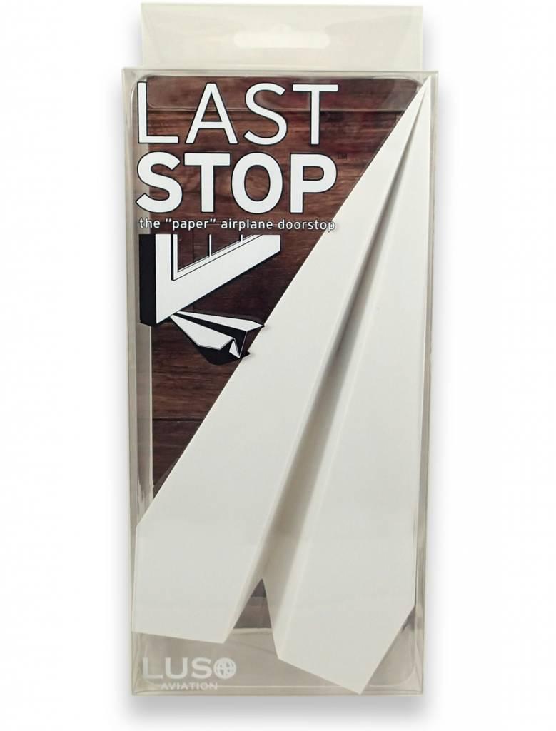 """LAST STOP, THE """"PAPER"""" AIRPLANE DOOR STOP"""