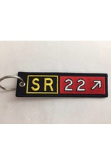 CIRRUS SR22 Embroidered Keychain