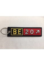 BEECHCRAFT Embroidered Keychain