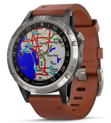 Garmin D2 Delta Pilot Watch