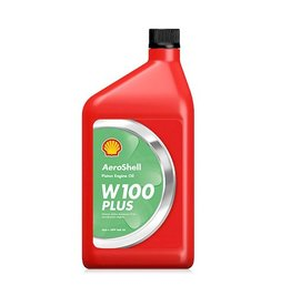 AEROSHELL AVIATION OIL W100 PLUS