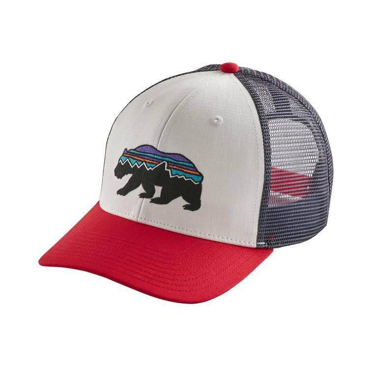 Patagonia Patagonia Fitz Roy Bear Trucker Hat - White