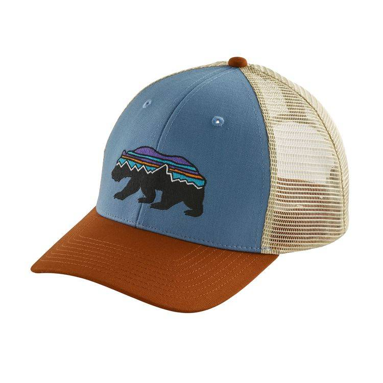 Patagonia Patagonia Fitz Roy Bear Trucker Hat - Railroad Blue