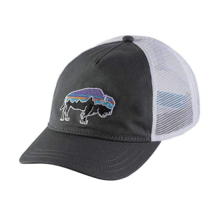 Patagonia Patagonia W's Fitz Roy Bison Layback Trucker Hat - Forge Grey