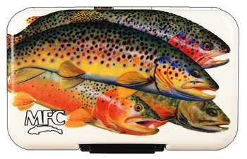 Montana Fly Company MFC Poly Fly Boxes - assorted artwork