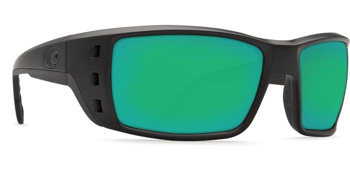 Costa Del Mar Costa Permit - Blackout Frame - Green Mirror Glass W580