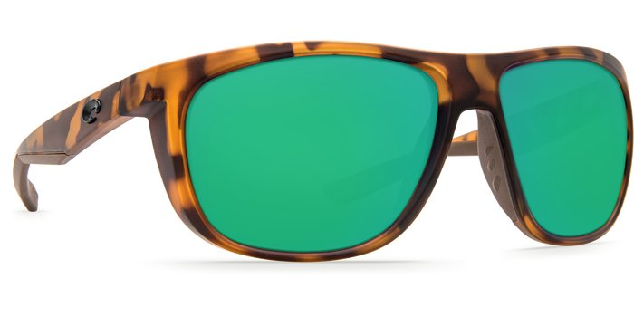 Costa Del Mar Costa KWA - Matte Retro Tortoise Frame - Green Mirror Glass W580 Lens