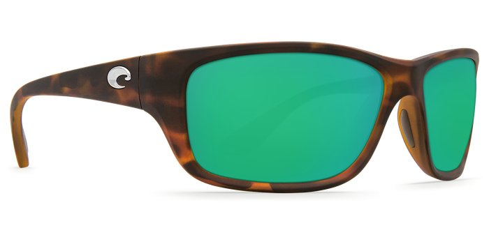 Costa Tasman - Matte Retro Tortoise Frame -  Sea Green Mirror Glass - W580