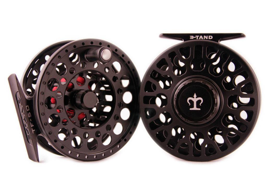 3-Tand TF-50 Reel - Stealth Black - 4-6wt