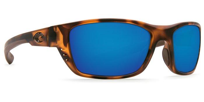 Costa Del Mar Costa Whitetip C-Mates - Matte Retro Tortoise Blue Mirror - 2.00