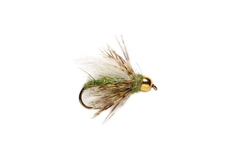 BH Caddis Pupa - Caddis Green