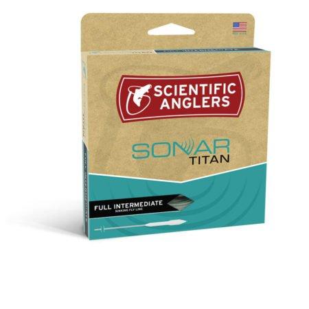 Scientifc Anglers Sonar Titan Taper Intermediate WF7I - Blue/Pale Green