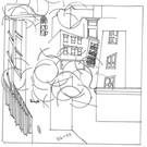 "Wharf Cat Parquet Courts/Joey Pizza Slice - Split 7"""