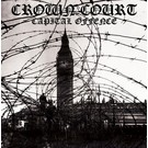 Rebellion Records Crown Court - Capital Offence LP (Red Vinyl, EU)