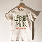 "Bid Chaos Welcome Lucrate Milk - ""KYA"" T-Shirt Large"