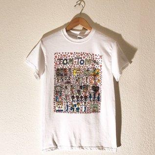 Bid Chaos Welcome The Tom Tom Club T Shirt Large