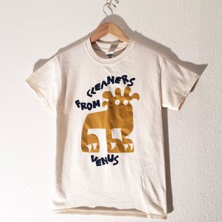 """Bid Chaos Welcome Cleaners From Venus - """"Lion"""" T-Shirt Large"""