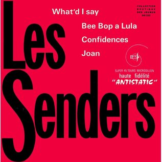 Cameleon Records Les Senders - What'd I Say 7""