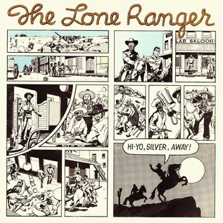 Greensleeves Lone Ranger - Hi Yo Silver Away LP