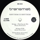 Rhythim Is Rhythim - Strings Of Life 12""