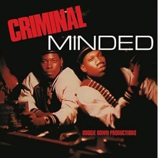 Traffic Boogie Down Productions - Criminal Minded 2xLP