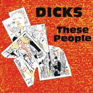 Alternative Tentacles Dicks - These People LP