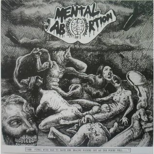 Breathing Problem Productions Mental Abortion / Reeking Cross - Split 7""