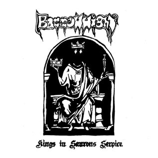 Stygian Black Hand Barrow Wight - King's In Sauron's Service LP