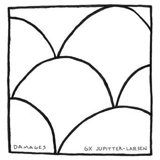"""auralgami sounds V/A - Damages/GX Jupitter-Larsen Split Lathe 7"""""""