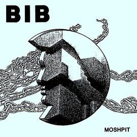 """Pop Wig Bib - Moshpit 7"""""""