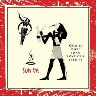 Sun Ra ‎- God Is More Than Love Can Ever Be LP