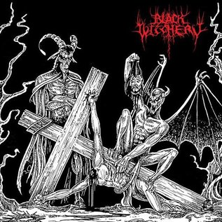 Nuclear War Now! Productions Black Witchery - Desecration Of The Holy Kingdom LP