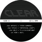 """Steve Summers - Artificial Light 12"""""""