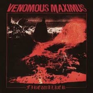 Shadow Kingdom Records Venomous Maximus - Firewalker LP (Orange/Red Splatter Vinyl)
