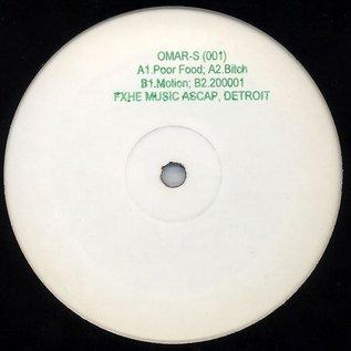 """FXHE Records Omar S - 001 12"""""""