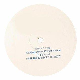 """FXHE Records Omar S - 003 12"""""""