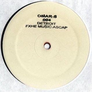 """FXHE Records Omar S - 004 12"""""""