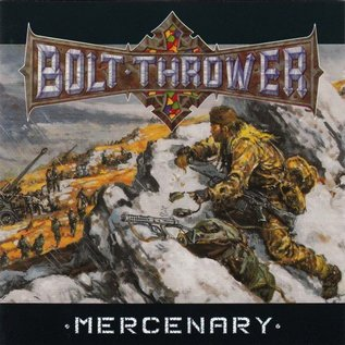 Metal Blade Records Bolt Thrower - Mercenary LP