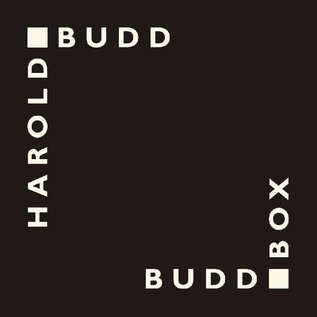 All Saints Budd, Harold - Budd Box (Black Edition) CD
