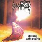 Werewolf Records Goatmoon - Finnish Steel Storm LP (White/Blue Merge Vinyl)