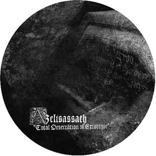 Azelisassath - Total Desecration Of Existence LP (Picture Disc)