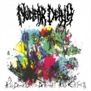 Floga Records Nuclear Death - All Creatures Great And Eaten/…For Our Dead LP