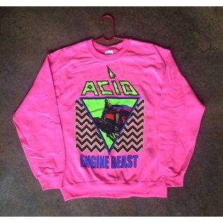 Forever Street Metal Bitch Acid - Crew Neck Pink Extra Large