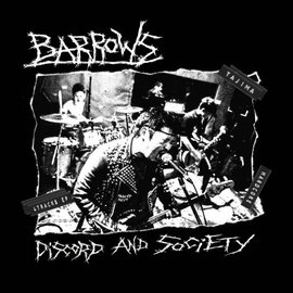 Not On Label Barrows - Discord And Society 7""