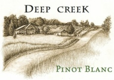 American Wine Deep Creek Cellars Pinot Blanc, Maryland 2012 750ml