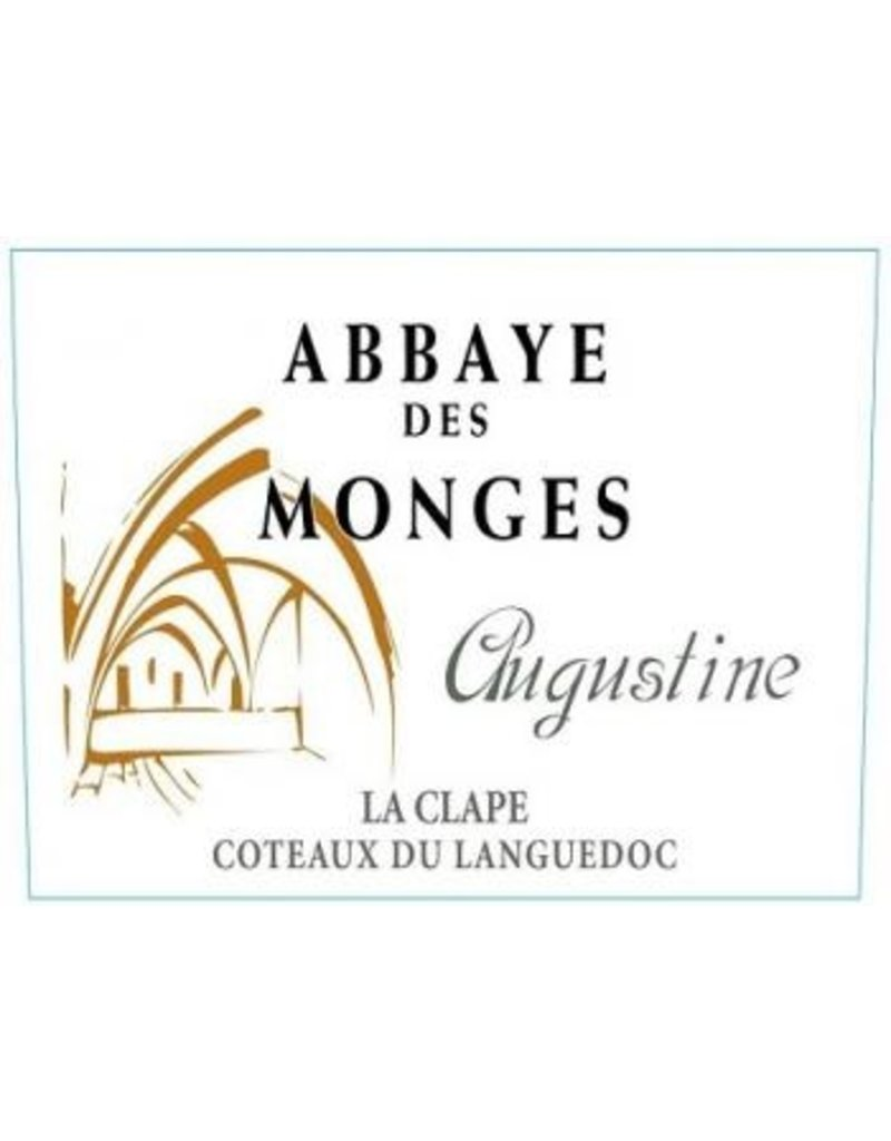 """French Wine Abbaye des Monges Augustine Rouge """"La Clape"""" Coteaux du Languedoc 2011 750ml"""