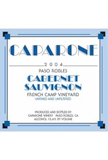 American Wine Caparone Cabernet Paso Robles 2014 750ml