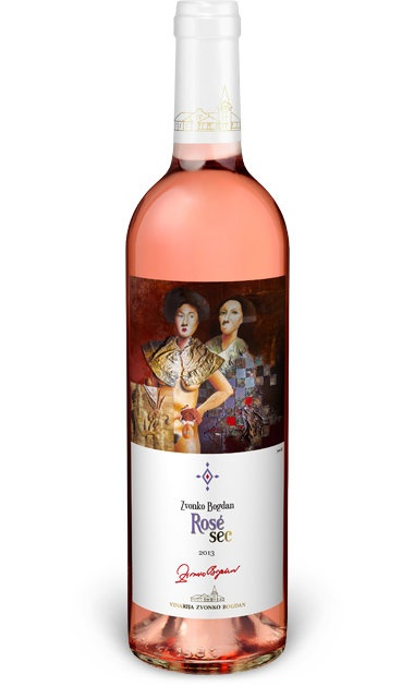 Eastern Euro Wine Zvonko Bogdan Rose Sec 2016 750ml