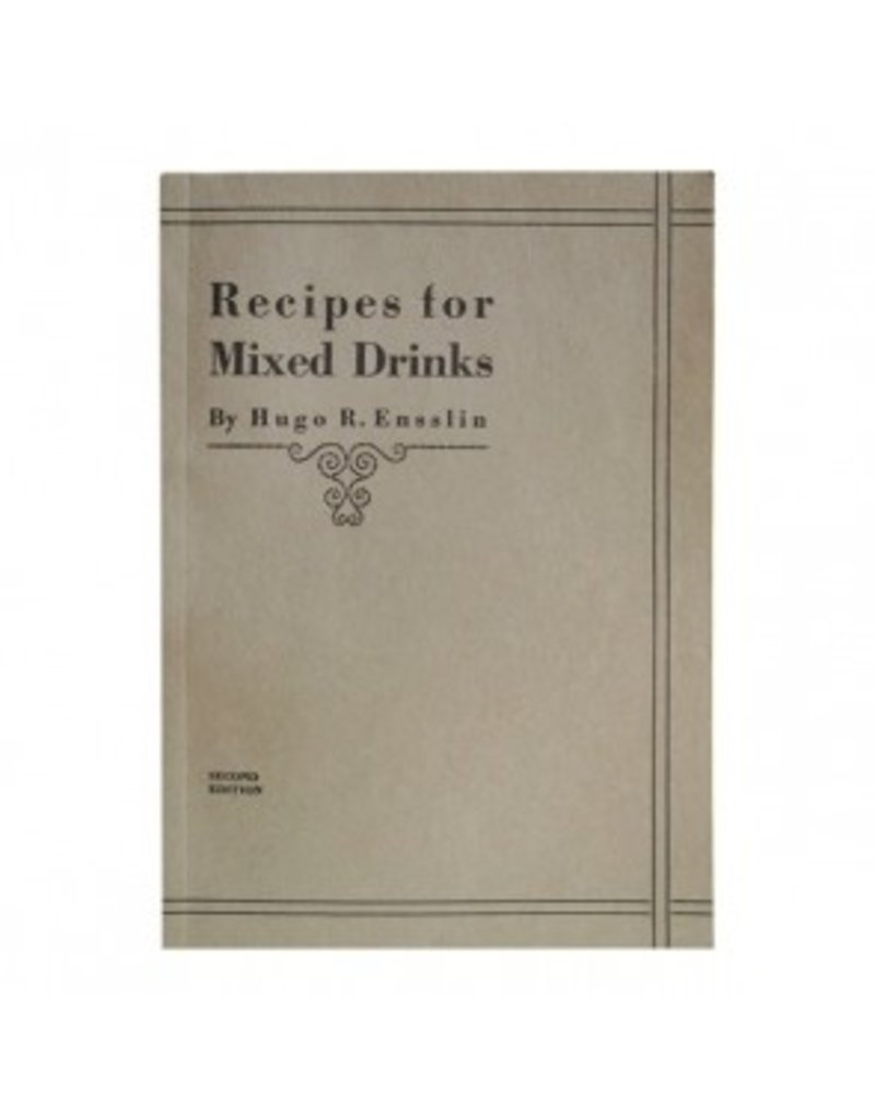 Miscellaneous Recipes for Mixed Drinks (Book)