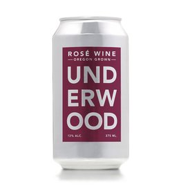 American Wine Underwood Rosé Can Oregon 375ml